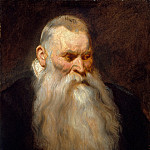 Metropolitan Museum: part 4 - Anthony van Dyck - Study Head of an Old Man with a White Beard