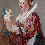 Jean Honoré Fragonard – A Woman with a Dog, Metropolitan Museum: part 4