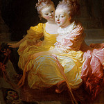 Jean Honoré Fragonard – The Two Sisters, Metropolitan Museum: part 4