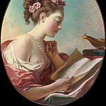 Young Woman Reading, Jean Honore Fragonard