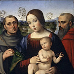 Metropolitan Museum: part 4 - Francesco Francia - Madonna and Child with Saints Francis and Jerome
