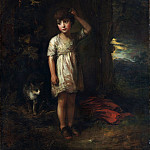 Metropolitan Museum: part 4 - Thomas Gainsborough - A Boy with a Cat—Morning