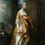 Thomas Gainsborough – Mrs. Grace Dalrymple Elliott , Metropolitan Museum: part 4