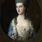 Thomas Gainsborough – Portrait of a Young Woman, Called Miss Sparrow, Metropolitan Museum: part 4