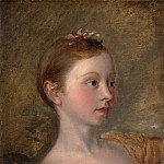 The Painter's Daughter Mary (), Thomas Gainsborough