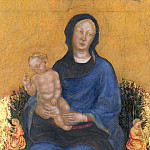 Gentile da Fabriano – Madonna and Child with Angels, Metropolitan Museum: part 4