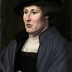 Metropolitan Museum: part 4 - Jan Gossart (Netherlandish, Maubeuge ca. 1478–1532 Antwerp (?)) - Portrait of a Man