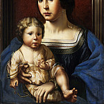 Copy after Jan Gossart – Virgin and Child, Metropolitan Museum: part 4