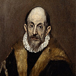 Metropolitan Museum: part 4 - El Greco (Greek, Candia [Iráklion] 1540/41–1614 Toledo) - Portrait of a Man