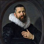 Frans Hals – Portrait of a Bearded Man with a Ruff, Metropolitan Museum: part 4