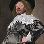 Metropolitan Museum: part 4 - Frans Hals - Portrait of a Man, possibly Nicolaes Pietersz Duyst van Voorhout (born about 1600, died 1650)