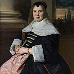 Frans Hals – Portrait of a Woman, Metropolitan Museum: part 4