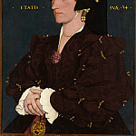 Lady Lee (Margaret Wyatt, born about 1509), Hans The Younger Holbein
