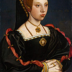 Metropolitan Museum: part 4 - Style of Hans Holbein the Younger - Portrait of a Young Woman