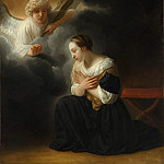 Samuel van Hoogstraten – The Annunciation of the Death of the Virgin, Metropolitan Museum: part 4