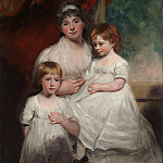 Metropolitan Museum: part 4 - John Hoppner - Mrs. John Garden (Ann Garden, 1769–1842) and Her Children, John (1796–1854) and Ann Margaret (born 1793)