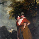 John Hoppner – Mrs. Richard Brinsley Sheridan and Her Son , Metropolitan Museum: part 4