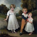 John Hoppner – The Sackville Children, Metropolitan Museum: part 4