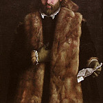 Metropolitan Museum: part 4 - Italian Painter, about 1540 - Portrait of a Man in a Fur-Trimmed Coat