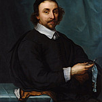 Metropolitan Museum: part 4 - Cornelis Jonson van Ceulen the Younger - Portrait of a Man with a Watch