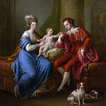 Metropolitan Museum: part 4 - Angelika Kauffmann - Edward Smith Stanley (1752–1834), Twelfth Earl of Derby, with His First Wife (Lady Elizabeth Hamilton, 1753–1797) and Their Son (Edward Smith Stanley, 1775–1851)