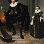 Metropolitan Museum: part 4 - Thomas de Keyser 1596/97–1667 Amsterdam) - A Musician and His Daughter