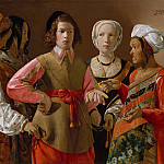 Georges de La Tour – The Fortune Teller, Metropolitan Museum: part 4