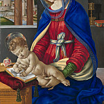 Metropolitan Museum: part 4 - Filippino Lippi - Madonna and Child