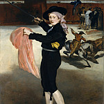 Édouard Manet – Mademoiselle V. . . in the Costume of an Espada, Metropolitan Museum: part 4