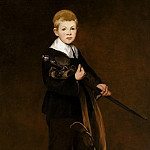 Metropolitan Museum: part 4 - Édouard Manet - Boy with a Sword