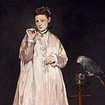 Édouard Manet – Young Lady in 1866, Metropolitan Museum: part 4
