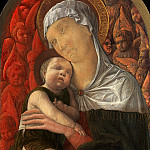 Andrea Mantegna – Madonna and Child with Seraphim and Cherubim, Metropolitan Museum: part 4