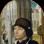 Metropolitan Museum: part 4 - Master of the View of Sainte Gudule - Young Man Holding a Book