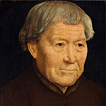 Hans Memling – Portrait of an Old Man, Metropolitan Museum: part 4