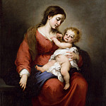 Bartolomé Esteban Murillo – Virgin and Child, Metropolitan Museum: part 4