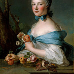 Jean Marc Nattier – Portrait of a Woman, Called the Marquise Perrin de Cypierre, Metropolitan Museum: part 4