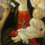 Metropolitan Museum: part 4 - Neroccio de' Landi (Italian, Siena 1447–1500 Siena) - Madonna and Child with Saints Jerome and Mary Magdalen