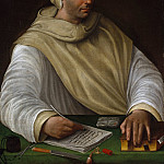 Metropolitan Museum: part 4 - Attributed to Battista Franco - Portrait of an Olivetan Monk