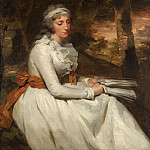 Metropolitan Museum: part 4 - Sir Henry Raeburn - Mrs. Richard Alexander Oswald (Louisa Johnston, ?born about 1760, died 1797)