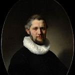 Metropolitan Museum: part 4 - Rembrandt (Dutch, Leiden 1606–1669 Amsterdam) - Portrait of a Man (attr)