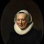 Metropolitan Museum: part 4 - Rembrandt (Dutch, Leiden 1606–1669 Amsterdam) - Portrait of a Woman (attr)
