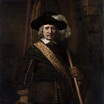 Metropolitan Museum: part 4 - Rembrandt (Dutch, Leiden 1606–1669 Amsterdam) - The Standard Bearer (Floris Soop, 1604–1657)