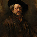 Rembrandt – Self-portrait, Metropolitan Museum: part 4