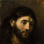 Metropolitan Museum: part 4 - Style of Rembrandt - Head of Christ