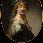 Metropolitan Museum: part 4 - Govert Flinck - A Young Woman as a Shepherdess (Saskia as Flora)