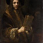 Metropolitan Museum: part 4 - Follower of Rembrandt - Portrait of a Man (The Auctioneer)