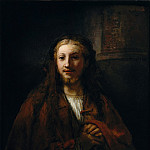 Metropolitan Museum: part 4 - Follower of Rembrandt - Christ with a Staff