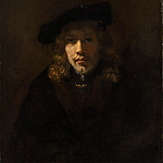 Style of Rembrandt – Man in a Beret, Metropolitan Museum: part 4
