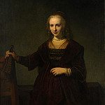 Style of Rembrandt – Portrait of a Woman, Metropolitan Museum: part 4