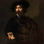 Metropolitan Museum: part 4 - Style of Rembrandt - Man with a Steel Gorget